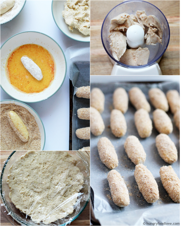 How to make Chicken Croquettes