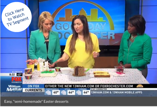 Semi-Homemade Easter Desserts | @hungryfoodlove
