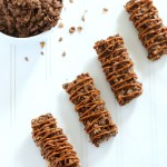 Dulce de Leche and Cocoa Pebbles Almond Bars