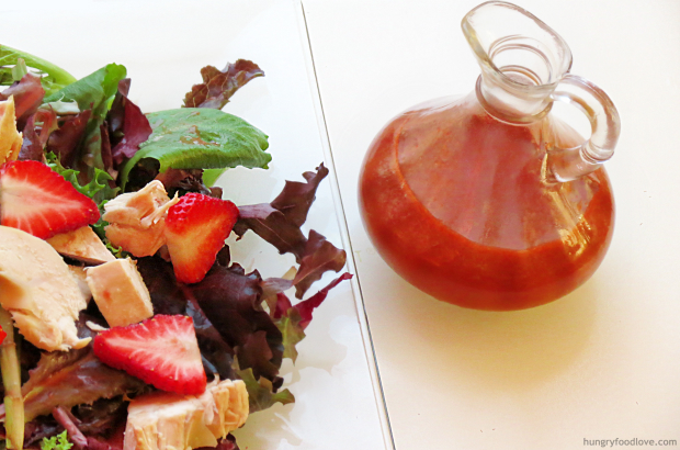 Best and super easy Strawberry Vinaigrette