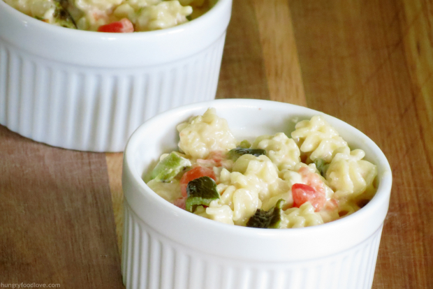 Queso Blanco Dip Style Mac and Cheese #VivaCADairy