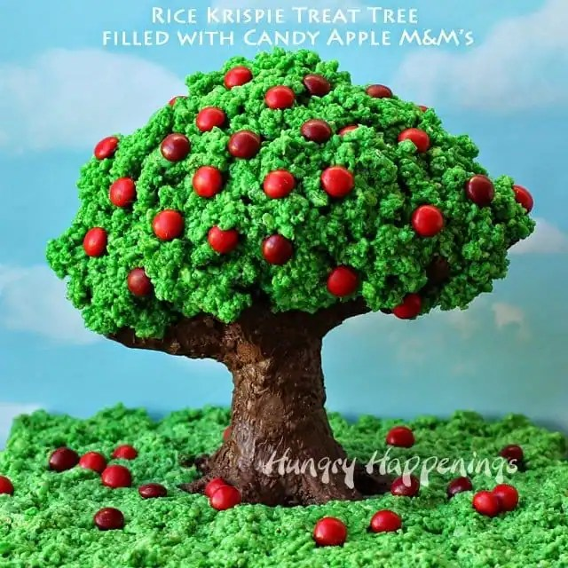 3d Fruit Wallpaper Rice Krispie Treat Apple Tree Hungry Happenings