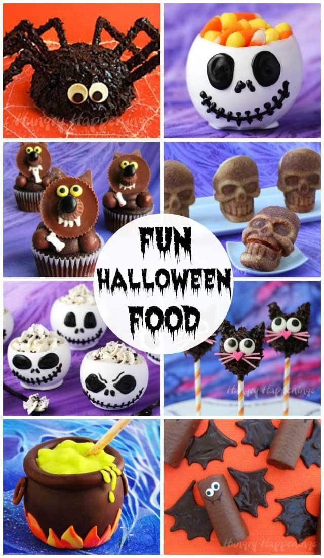 Halloween Recipes  Fun Party Food - Over 100 Cute  Creepy Ideas