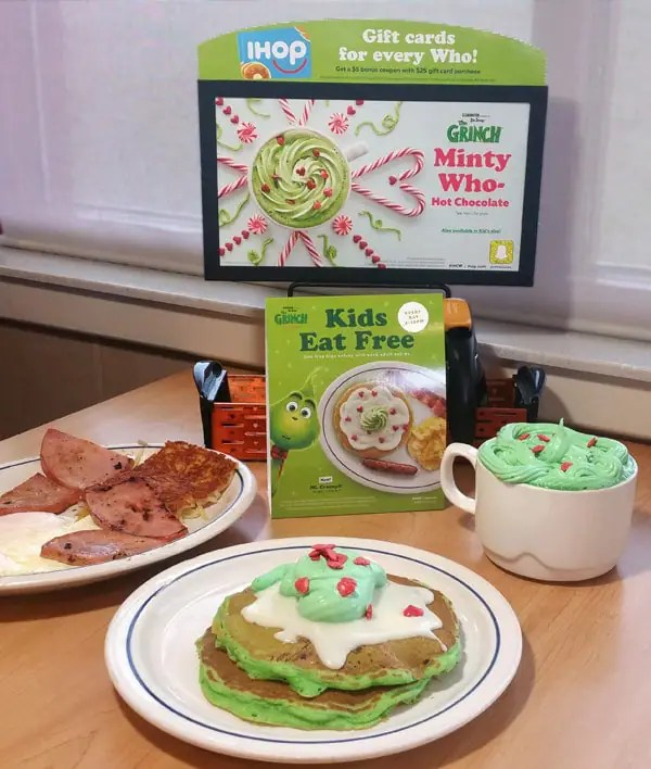 Copycat IHOP Grinch Pancakes Recipe Hungry Happenings (VIDEO)