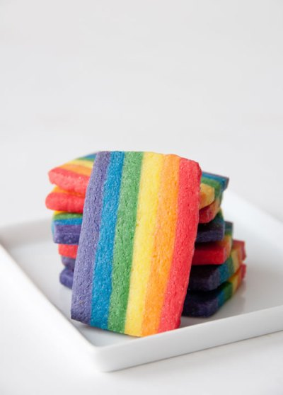 Rainbow Cookies for Gay Pride | Hungry Rabbit