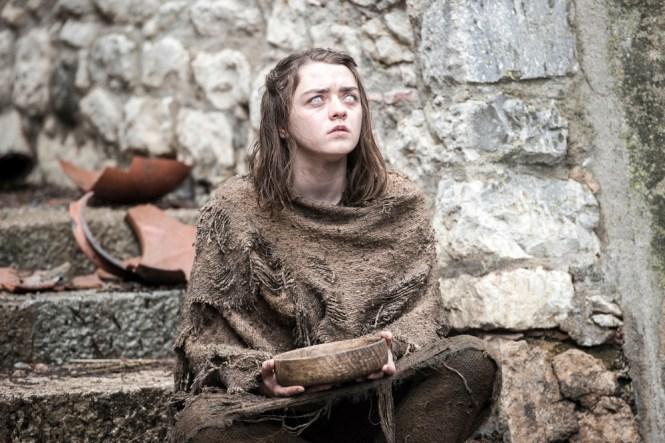 Arya Stark blind pic 2 Season 6