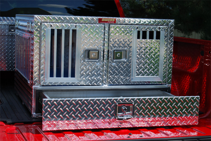 Owens Dog Boxes Quality Aluminum Dog Boxes From Huntemup