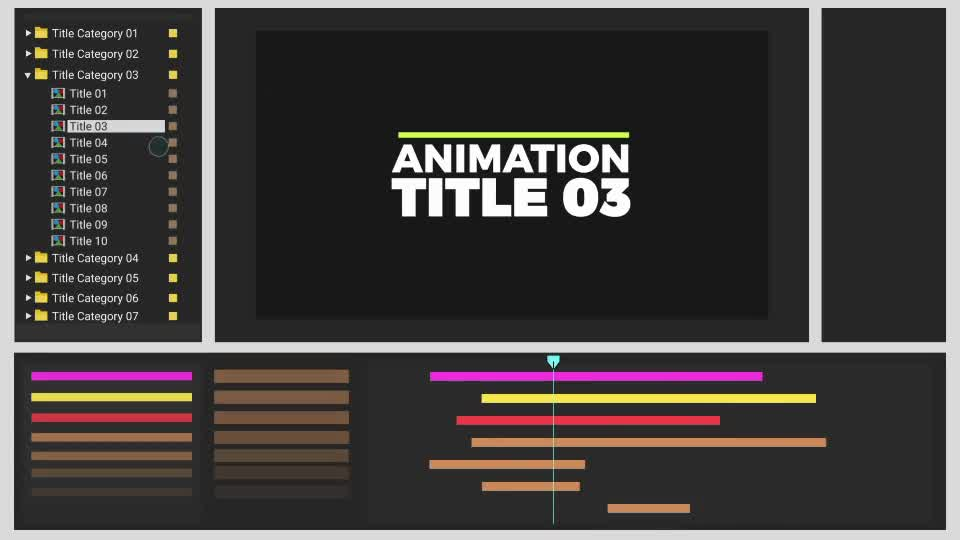 Typro ImpactPack 215 Title Animations - Download Videohive 20761549 - animation title