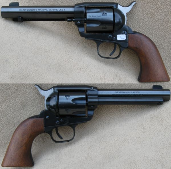 Weihrauch Möbel Weihrauch Model Western Single Action, Kopi Af En Colt ...