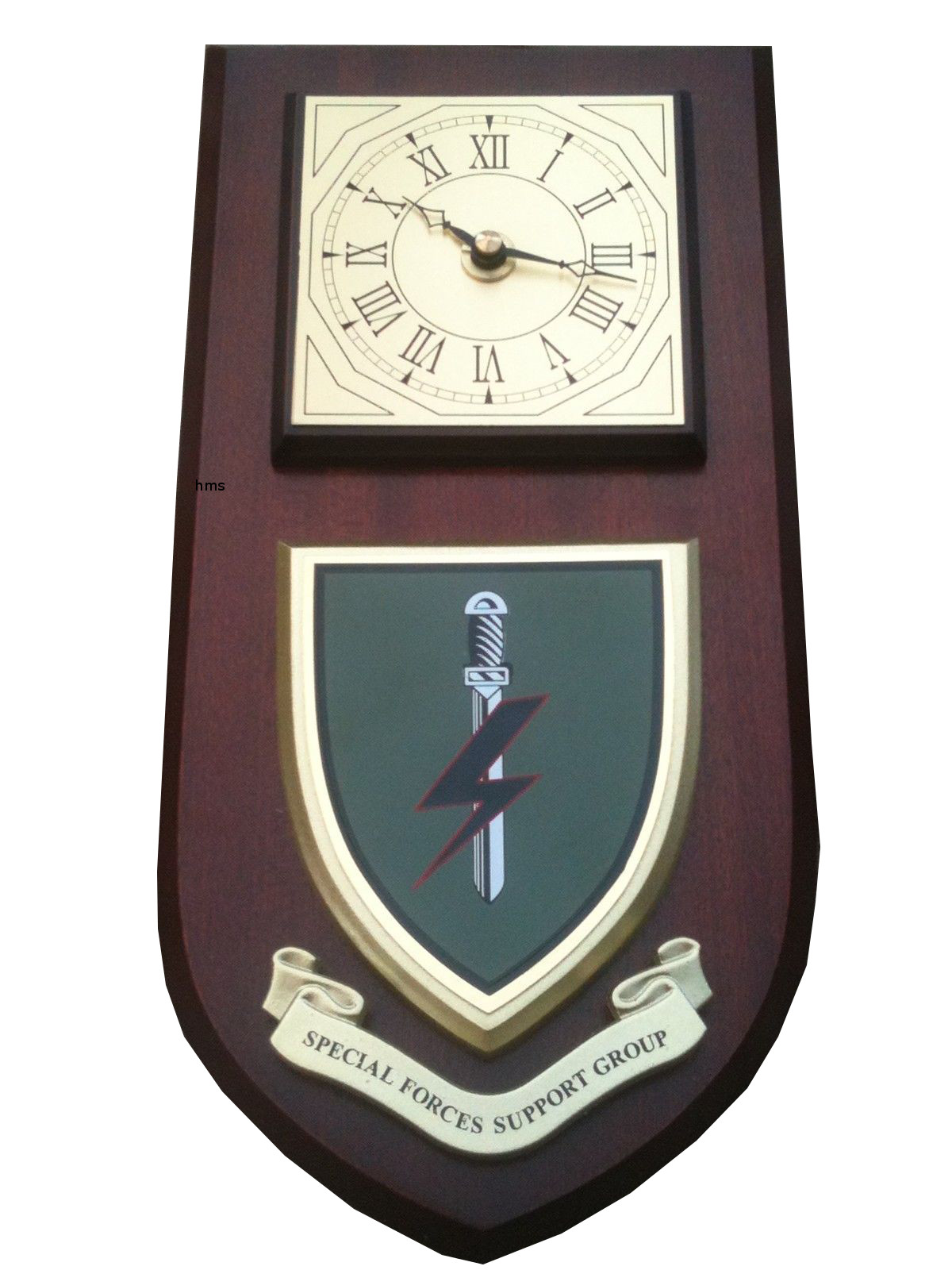Special Clock Special Forces Support Group Sfsg Regiment Military Wall Plaque Clock