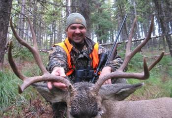 Mule deer hunting 2008