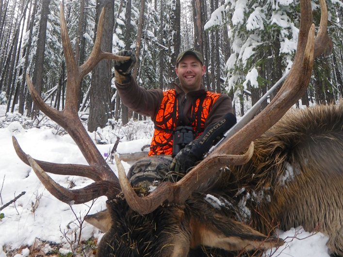Rifle Elk hunts montana