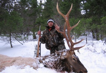 Rifle Elk hunts montana (4)