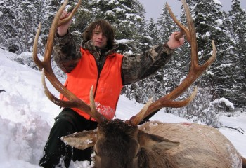 Rifle Elk hunts montana (5)