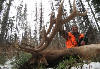 Rifle Elk hunts montana (6)
