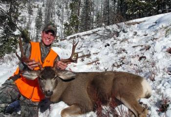 mule deer guided hunts