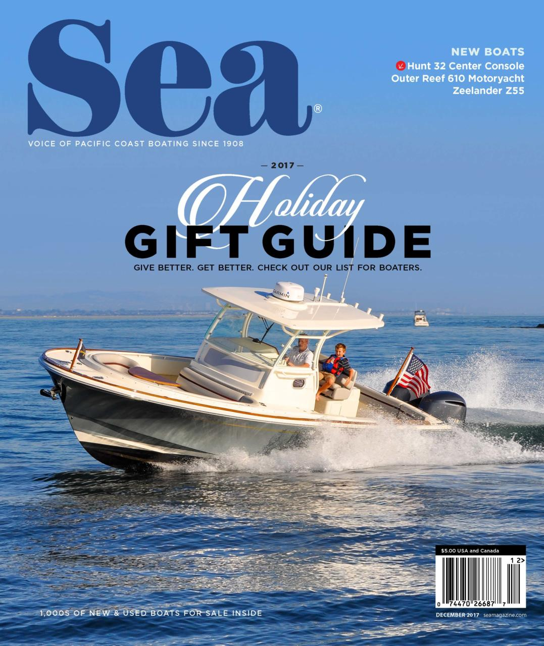 Console Magazine Sea Magazine Hunt 32 Center Console Hunt Yachts