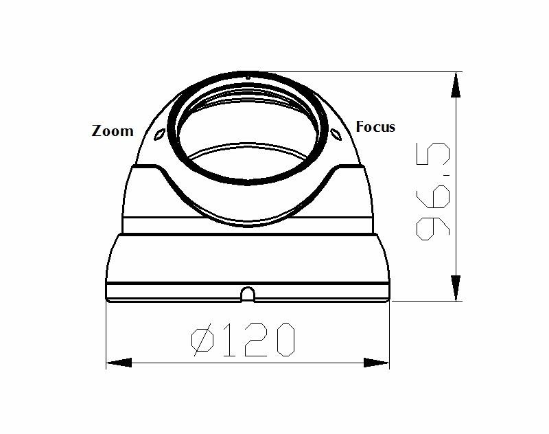 hd diagram camera wiring cctv 1200tvl