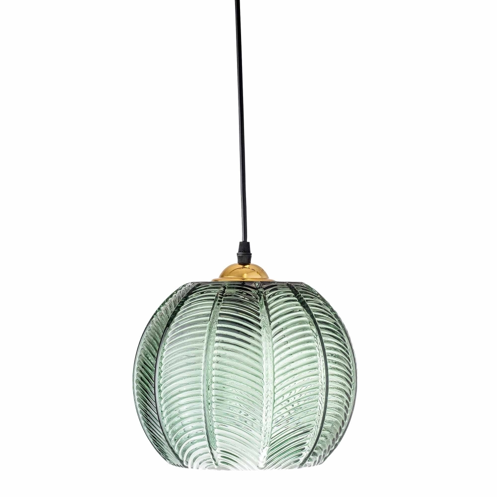 Glass Lamp Ceiling Green Glass Pendant Ceiling Lamp