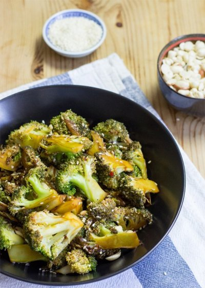 Vegan Broccoli Salad - High in Protein, Low in Carbs ...