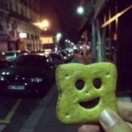 Smiley Cookie Man, Paris