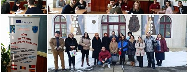 "PROIECT ERASMUS+/K2 ""HOW WE TEACH AND LEARN ENGLISH"" Short term joint staff training events ""CLIL în general education"" – C6 – România"