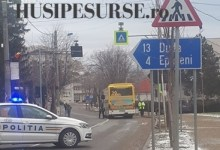 Accident rutier pe strada 1 Decembrie