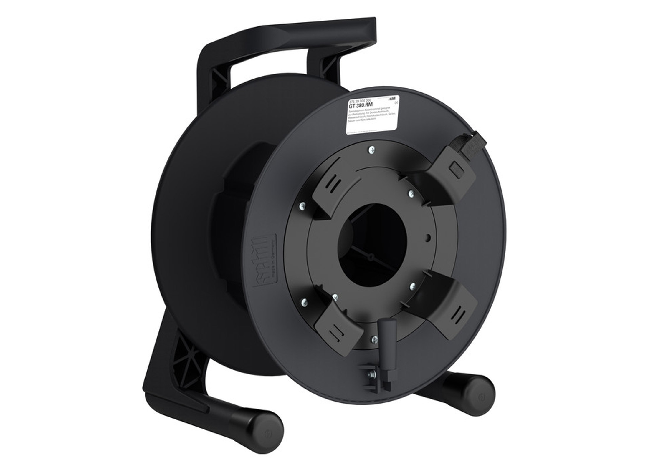 Ventilator Ohne Rotor Schill Gt 380 Rm Rubber Cable Reel Black With Outside Spool