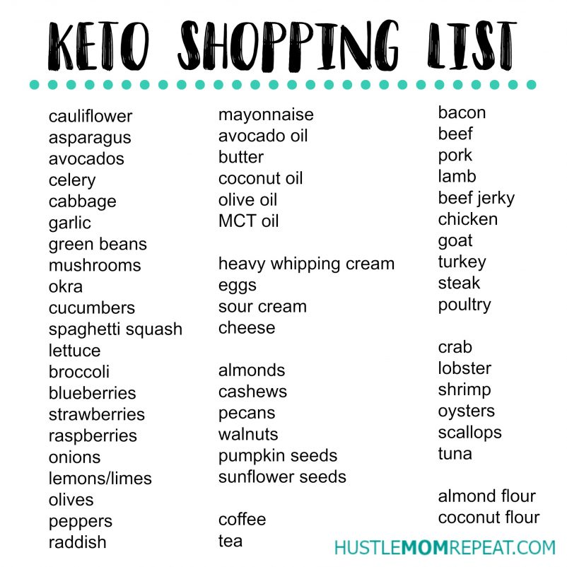 Shopping List Free Printable Master Grocery List Instant Download