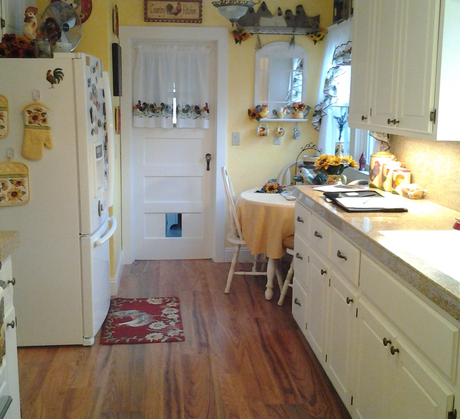 Galley Kitchen Before And After Kitchen Case Study White Country Cabinets