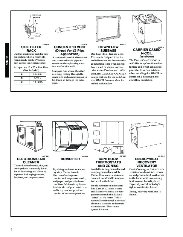 carrier 58wav service manual