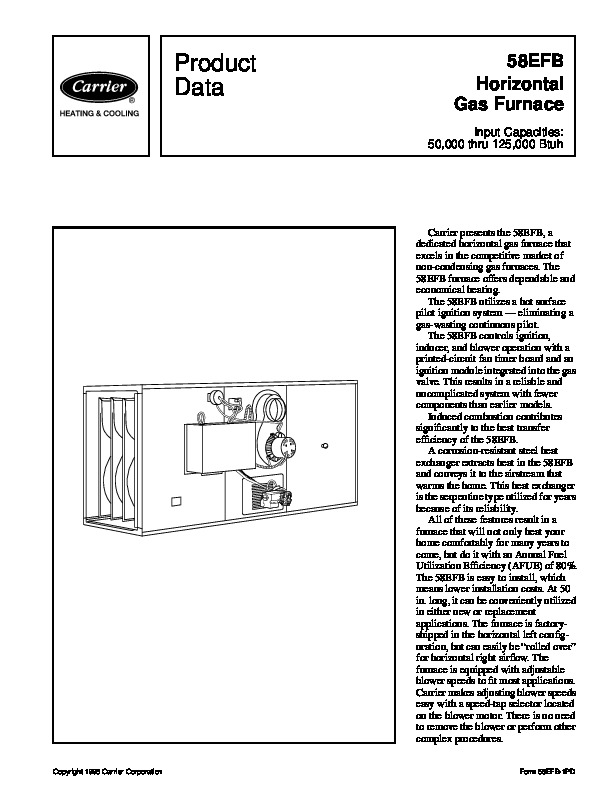 ducane furnace installation manual