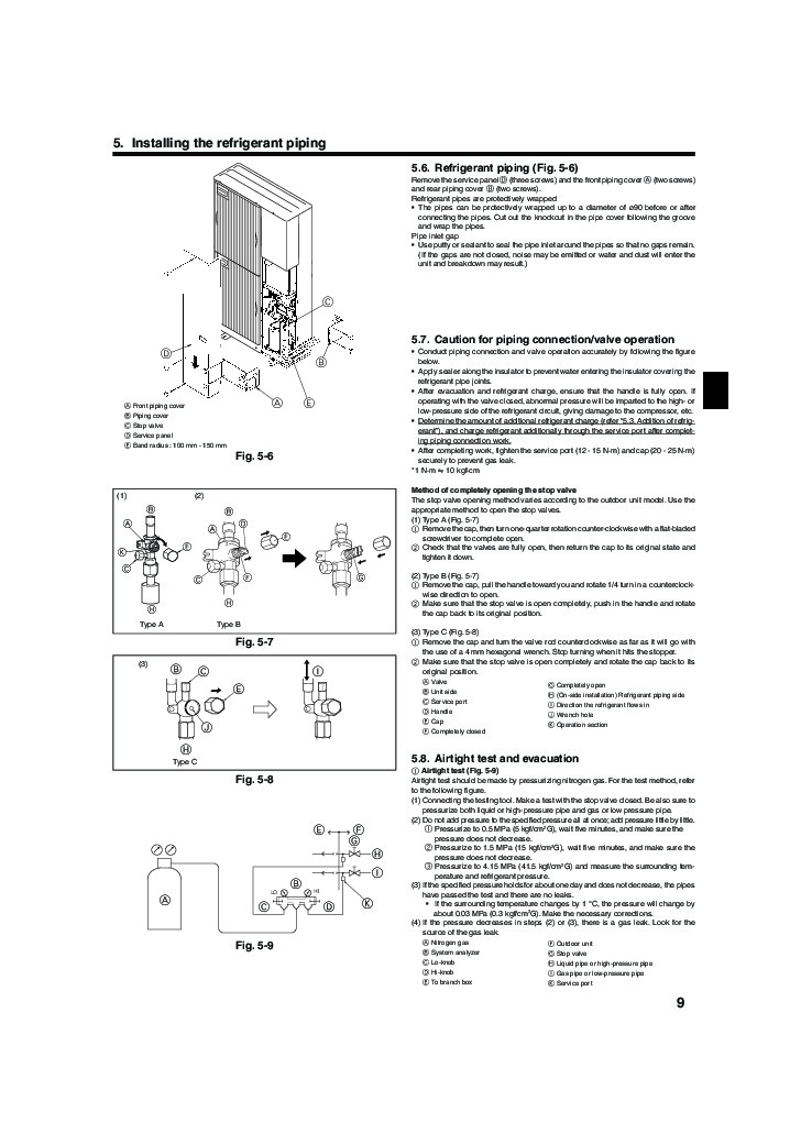 mitsubishi electronics mrslim r22 user manual