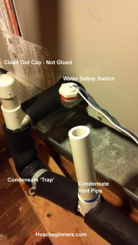 Air Conditioning Condensate Drain Line Clogged