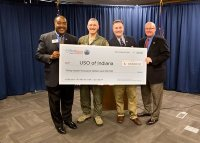 WaterFurnace Presents USO of Indiana with Financial ...