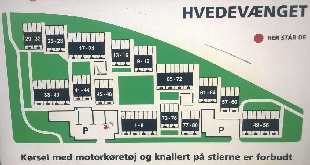 husnumre på kort