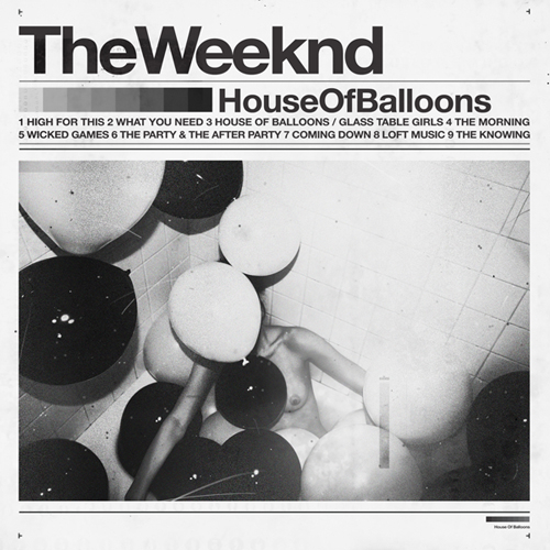 house of balloons glass table