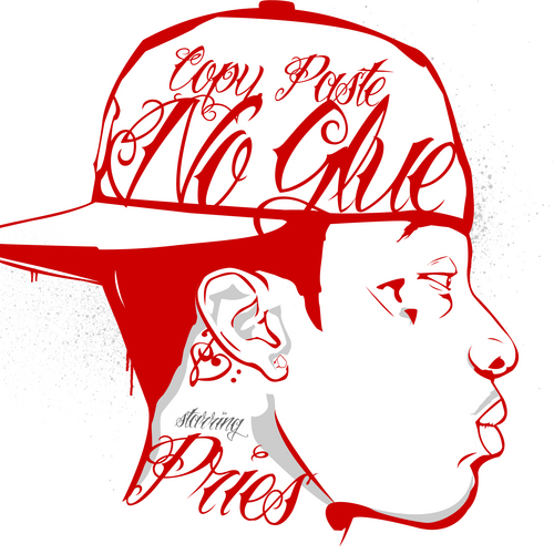 Copy, Paste, No Glue Mixtape by Pries - cool copy and paste art