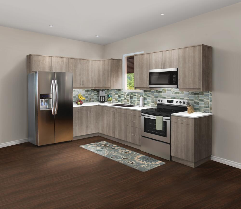 KlËarvŪe L Shaped Kitchen W 10