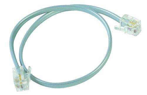 RCA 1\u0027 Silver Phone Line Cord at Menards®