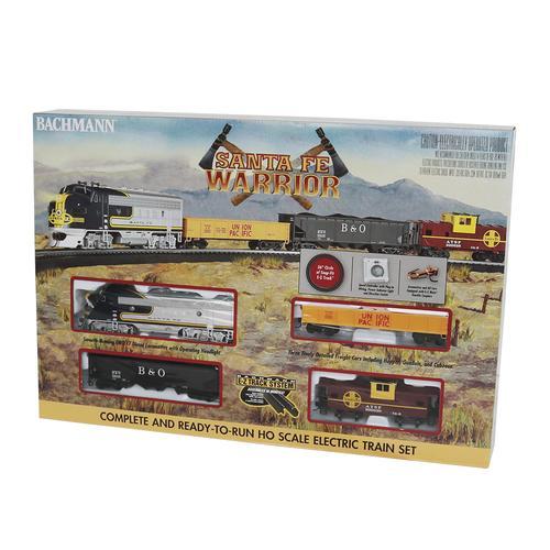 Bachmann® Santa Fe Warrior Ready-to-Run HO Gauge Train Set at Menards®