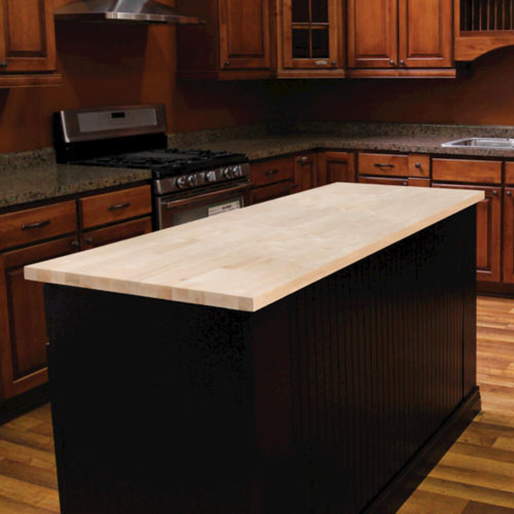 Butcher Block Birch Countertop At Menards
