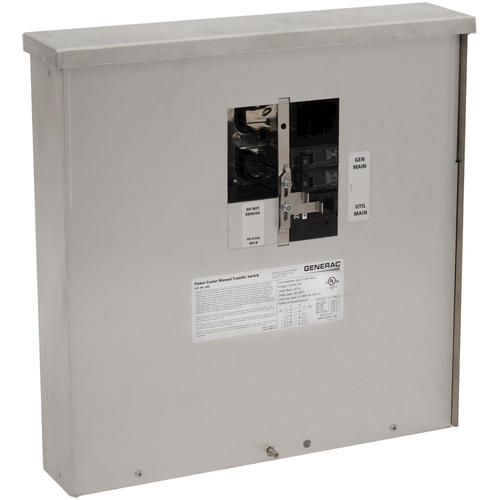 Generac 200-Amp Manual Transfer Switch (NEMA 3R) at Menards®