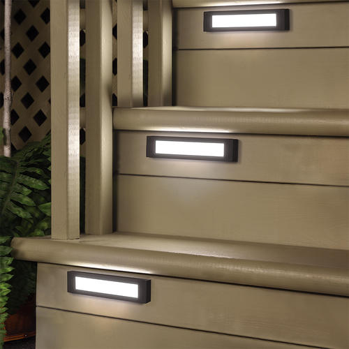 Low Voltage Led Landscape Lighting Menards Patriot Lighting® Low-voltage Led Crowley Deck Light At