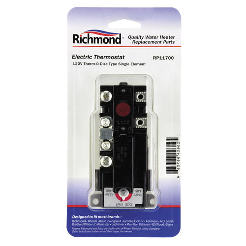 Richmond® Electric Water Heater Thermostat at Menards®