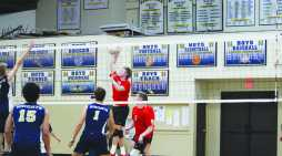Numbers Game: boys volleyball uses stats to analyze the game