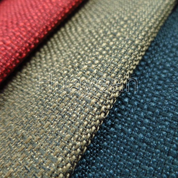 Sofa Fabric Quality Linen Look Upholstery Fabric Swatches