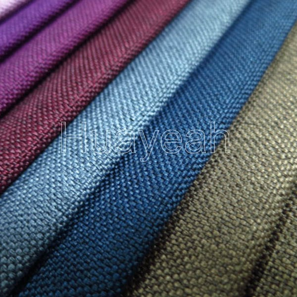 Sofa Fabric Name Linen Like Polyester Upholstery Vinyl Fabric
