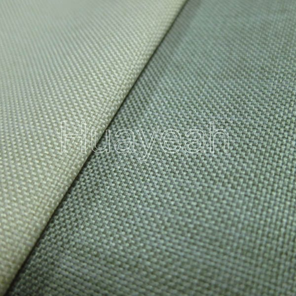 Sofa Fabric Quality Plain Linen Look Vinyl Upholstery Fabric