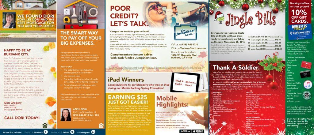 Quarterly Newsletters Examples - HyattWard Advertising